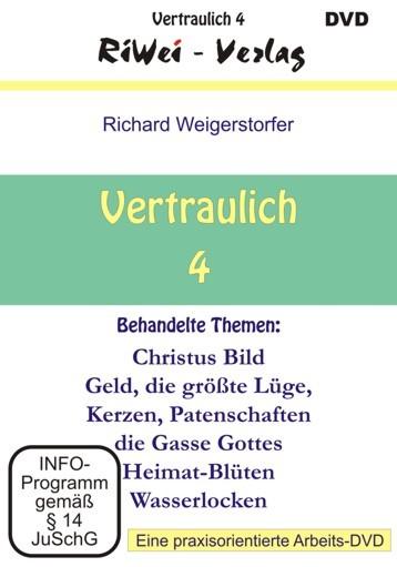 Richard Weigerstorfer - Vertraulich 4 (DVD)
