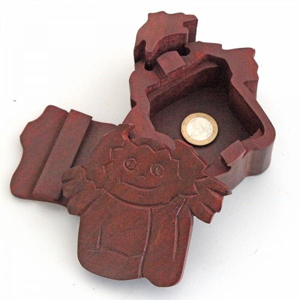 Puzzlebox aus Holz -Engel klein-