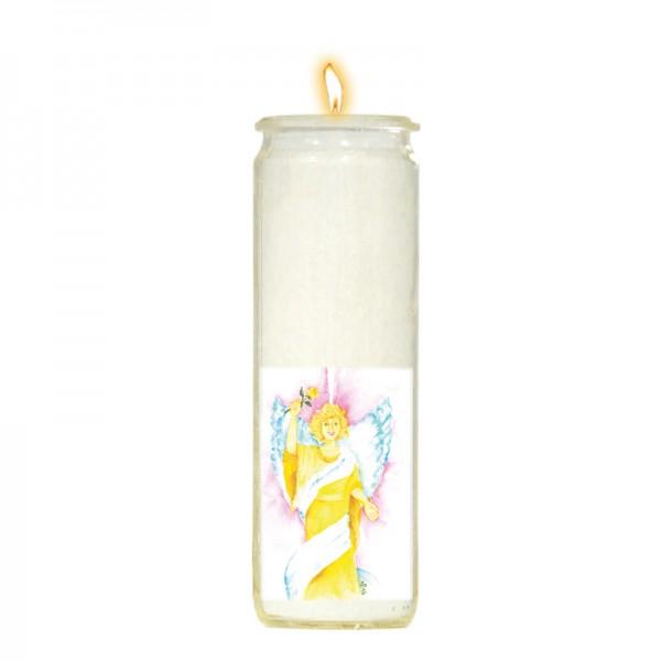 Herzlicht-Kerze Erzengel Jophiel 20 x 6 cm