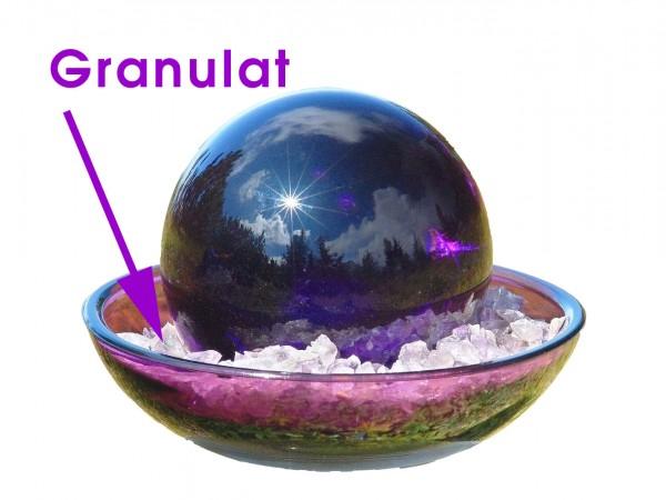 Urteilchen-Glasschale Granulat 100 g