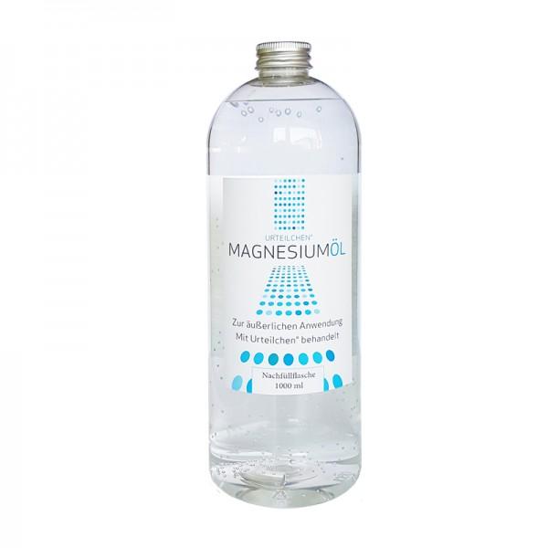 Urteilchen Magnesiumöl 1000 ml - Nachfüllflasche