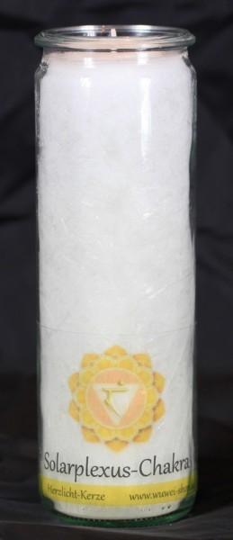 Herzlicht Solarplexus-Chakra weiß 20 x 6 cm