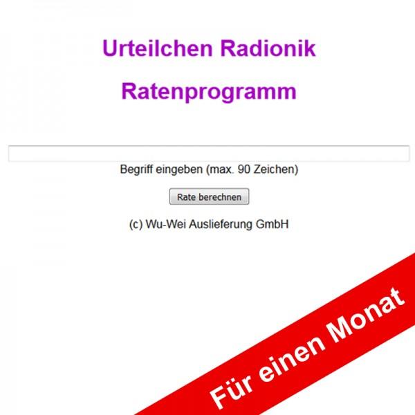 Internet-Ratenprogramm für einen Monat