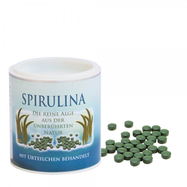 Spirulina 400 mg - 100 g (ca. 250 Stück)