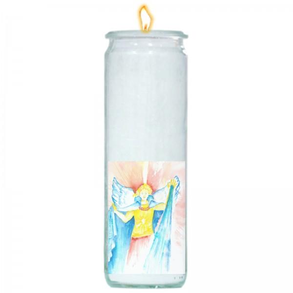 Herzlicht-Kerze -Erzengel Michael- 20 x 6 cm