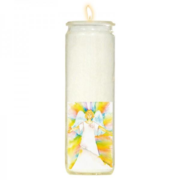 Herzlicht-Kerze Erzengel Gabriel 20 x 6 cm
