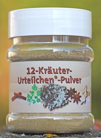 12-Kräuter Urteilchen-Pulver 70 g