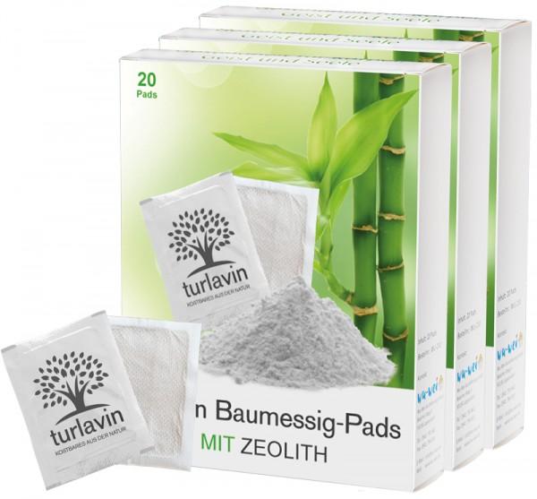 Turlavin Baumessig-Pads mit Zeolith (Kur-Pack mit 60 Pads)