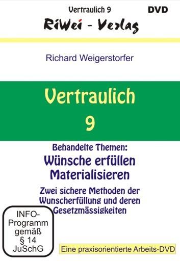 Richard Weigerstorfer - Vertraulich 9 (DVD)