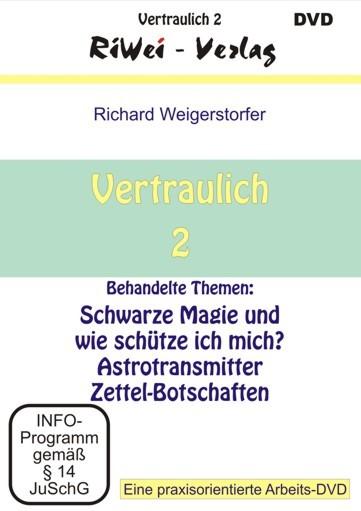 Richard Weigerstorfer - Vertraulich 2 (DVD)