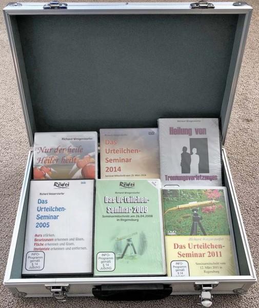 Richard Weigerstorfer - Set mit 6 wertvollen DVDs
