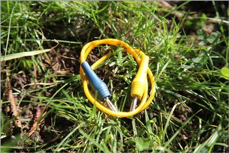 Kabel gelb 50 cm für Urteilchen-Strahler