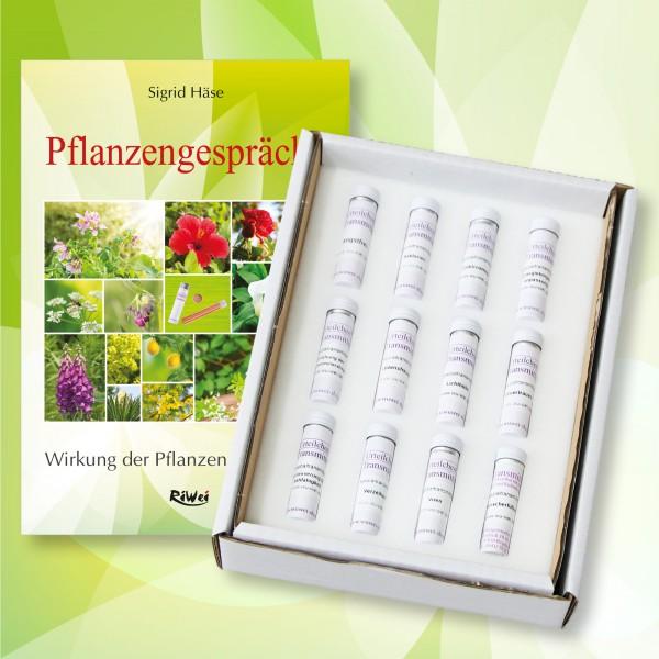 Set- Pflanzen-Transmitter (12 Transmitter inkl. Buch)