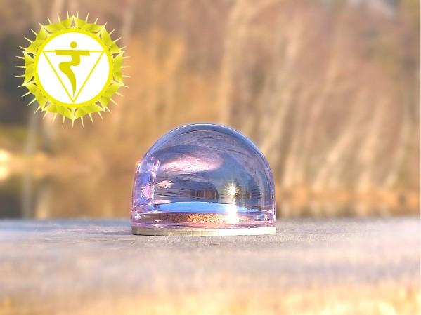 Urteilchen Linse - Solarplexus-Chakra