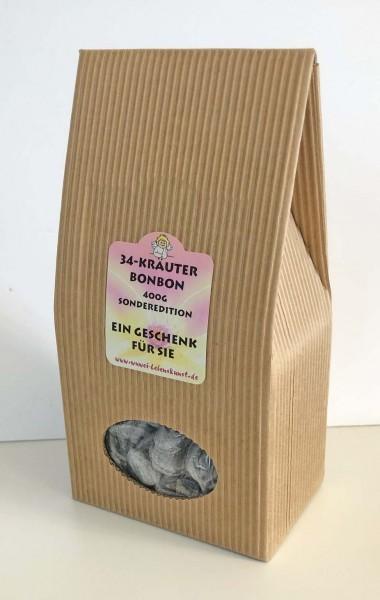 34 Kräuter-Öl Bonbon 400 g Pack
