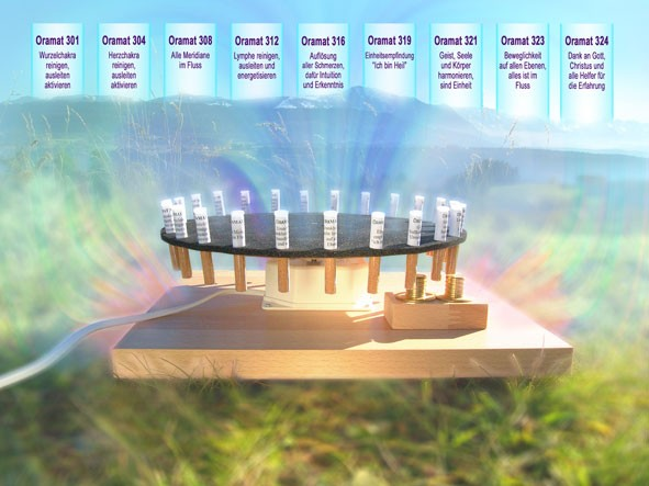 ORAMAT Komplett-Set mit 24 neutralen Transmittern