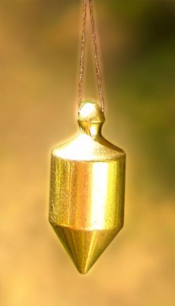 Mini-Pendel 1 vergoldet