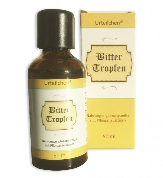 Urteilchen® Bitterkräuter Tropfen 50 ml - das Original von Wu-Wei