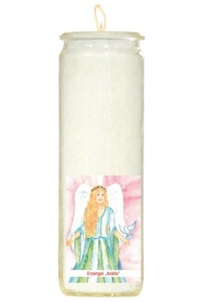 Herzlicht-Kerze -Erzengel Arielle- 20 x 6 cm