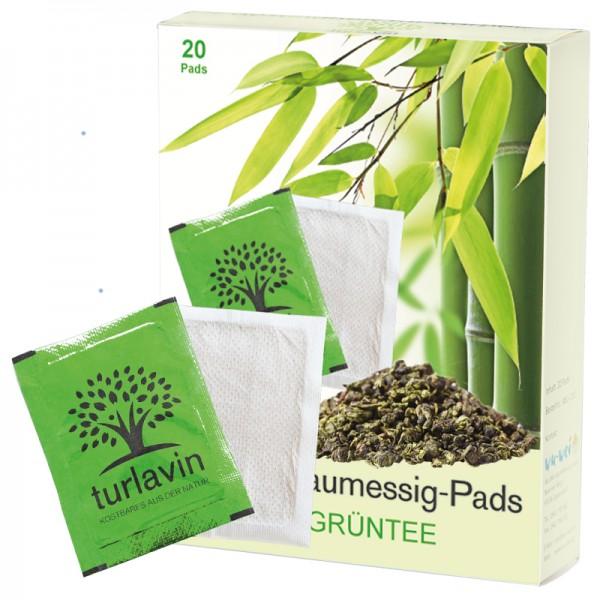 Turlavin Baumessig-Pads mit Grüntee (Pack mit 20 Stück)