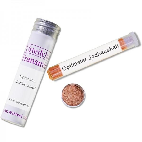 Optimaler Jodhaushalt (Urteilchen-Transmitter)