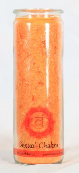 Herzlicht Sexual-Chakra orange 20 x 6 cm