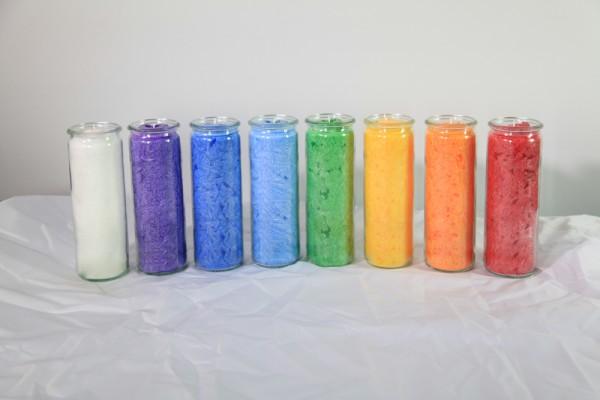 Herzlicht-Kerzen Set 13 Stück 20 x 6 cm