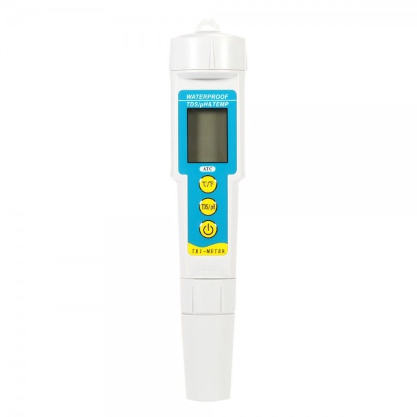 Trimeter (3 in 1) pH-Wert, Leitwert und Temperatur messen