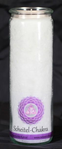 Herzlicht Scheitel-Chakra weiß 20 x 6 cm