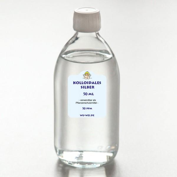 Kolloidales Silber 50 ppm - 50 ml