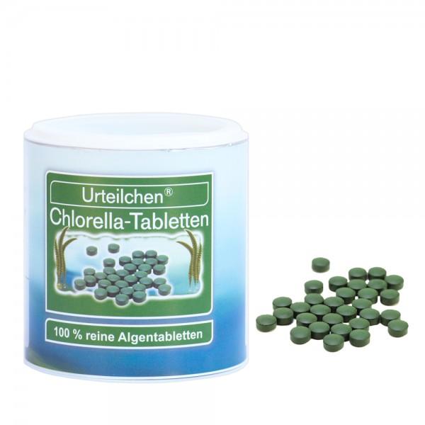 Urteilchen Chlorella-Tabletten 400 mg - 100 g (ca. 250 Tabletten)