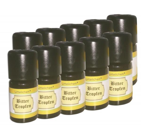 Urteilchen® Bitterkräuter Tropfen 10 x 5 ml - das Original von Wu-Wei