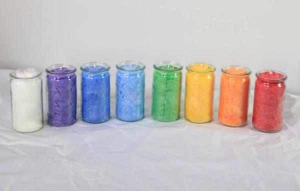 Herzlicht-Kerzen Set 13 Stück 13 x 6 cm
