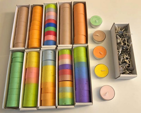 Teelichter Set 100 Stück + 10 gratis