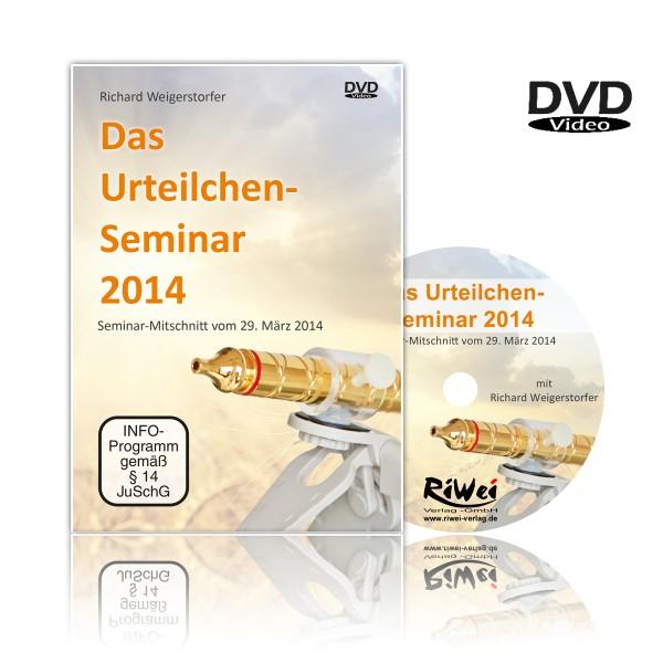 Weigerstorfer- Das Urteilchen-Seminar 2014 (DVD)