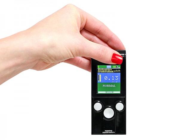 Radioaktivitäts-Messgerät mit TFT-Display - Abverkaufspreis