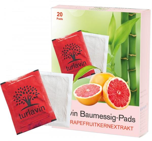 Turlavin Baumessig-Pads mit Grapefruitkernextrakt (Pack mit 20 Pads)