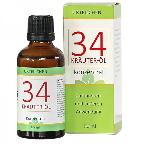 34 Kräuter-Öl 50 ml