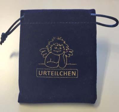 Samtsäckchen blau 8,5 x 10 cm