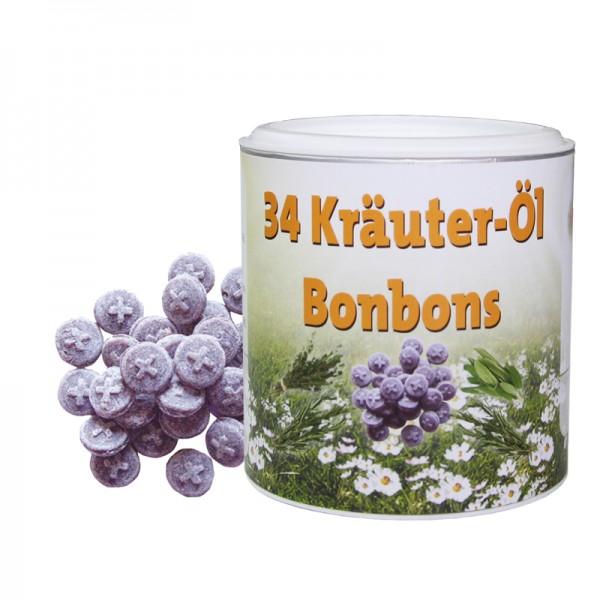 34 Kräuter-Öl Bonbon 150 g