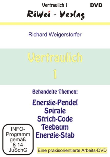 Richard Weigerstorfer - Vertraulich 1 (DVD)