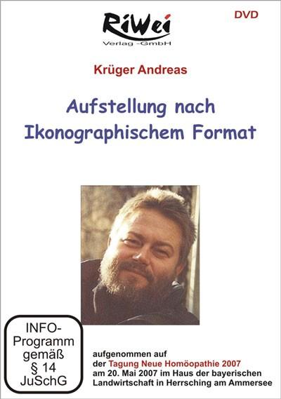 Andreas Krüger - Aufstellung nach ikonographischem Format (DVD)