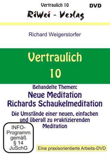 Richard Weigerstorfer - Vertraulich 10 (DVD)