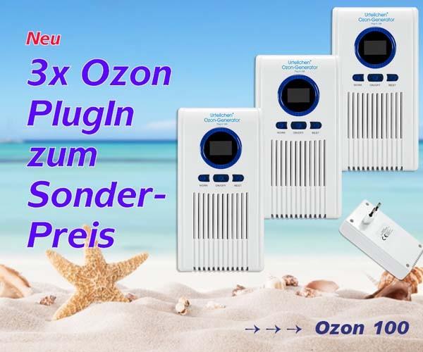 Urteilchen Ozon-Generator Plug in