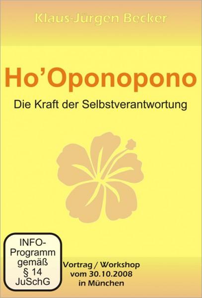 Klaus Jürgen Becker - Ho'oponopono - Die Kraft der Selbstverantwortung (DVD)