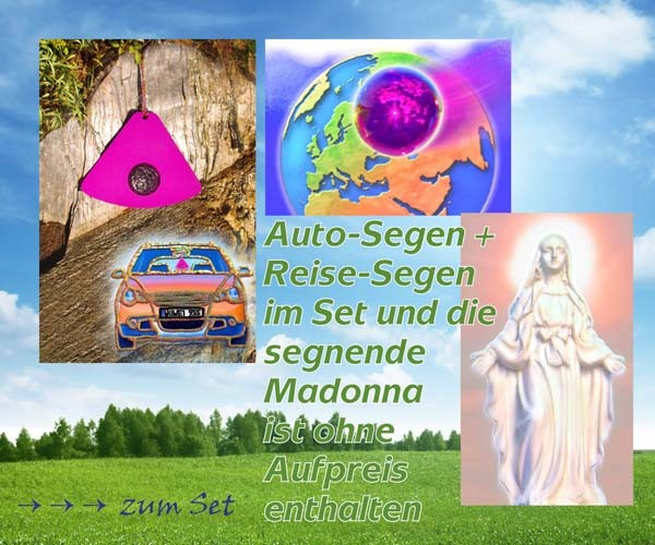 Urteilchen-Reise- und Auto-Segen mit Madonna