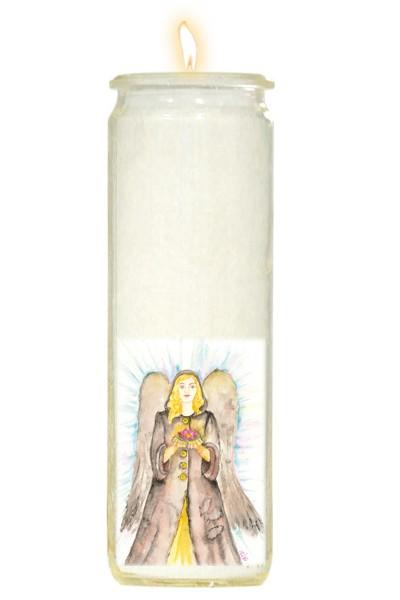 Herzlicht-Kerze Azrael 20 x 6 cm