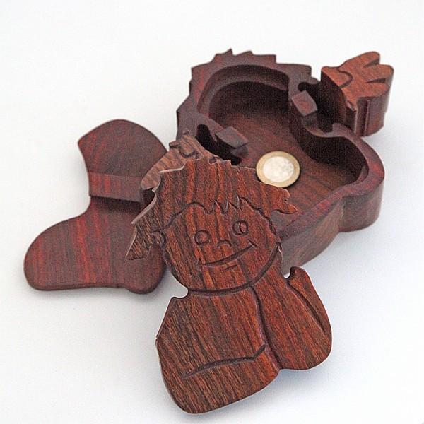 Puzzlebox aus Holz -Engel groß-