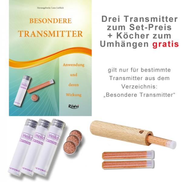 Drei Transmitter zum Set-Preis + Köcher zum Umhängen gratis