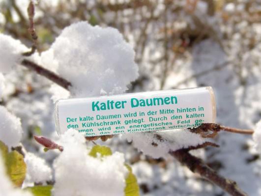 Kalter Daumen
